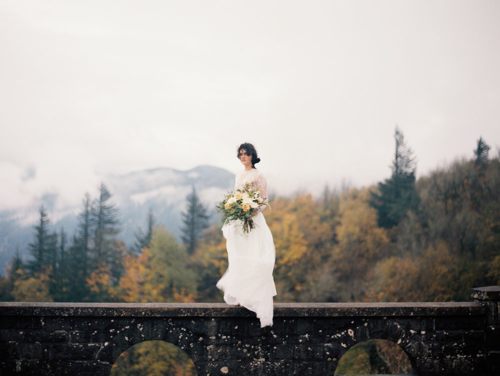 Creative Romantic Film Wedding Photographer Oregon, Portland