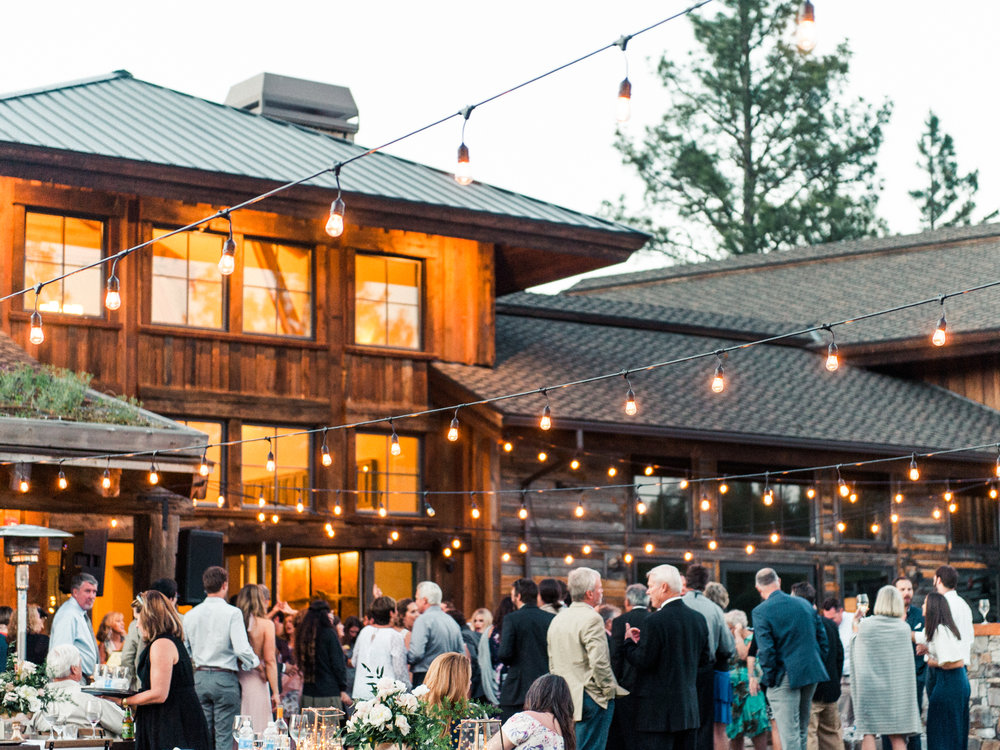 Right on the river, surrounded by massive cabin rentals, and a huge venue and yard for an outdoor wedding and go-to indoor space for getting ready, food prep or even to use as a dance floor. http://blackhawkontheriver.com/