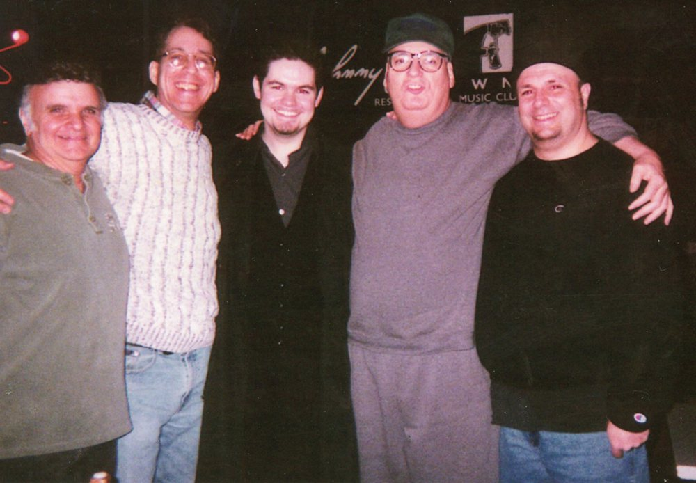 Sal Baglio of the Stompers, A.J. Wachtel, Mike Welch & Mickey O'Halloran