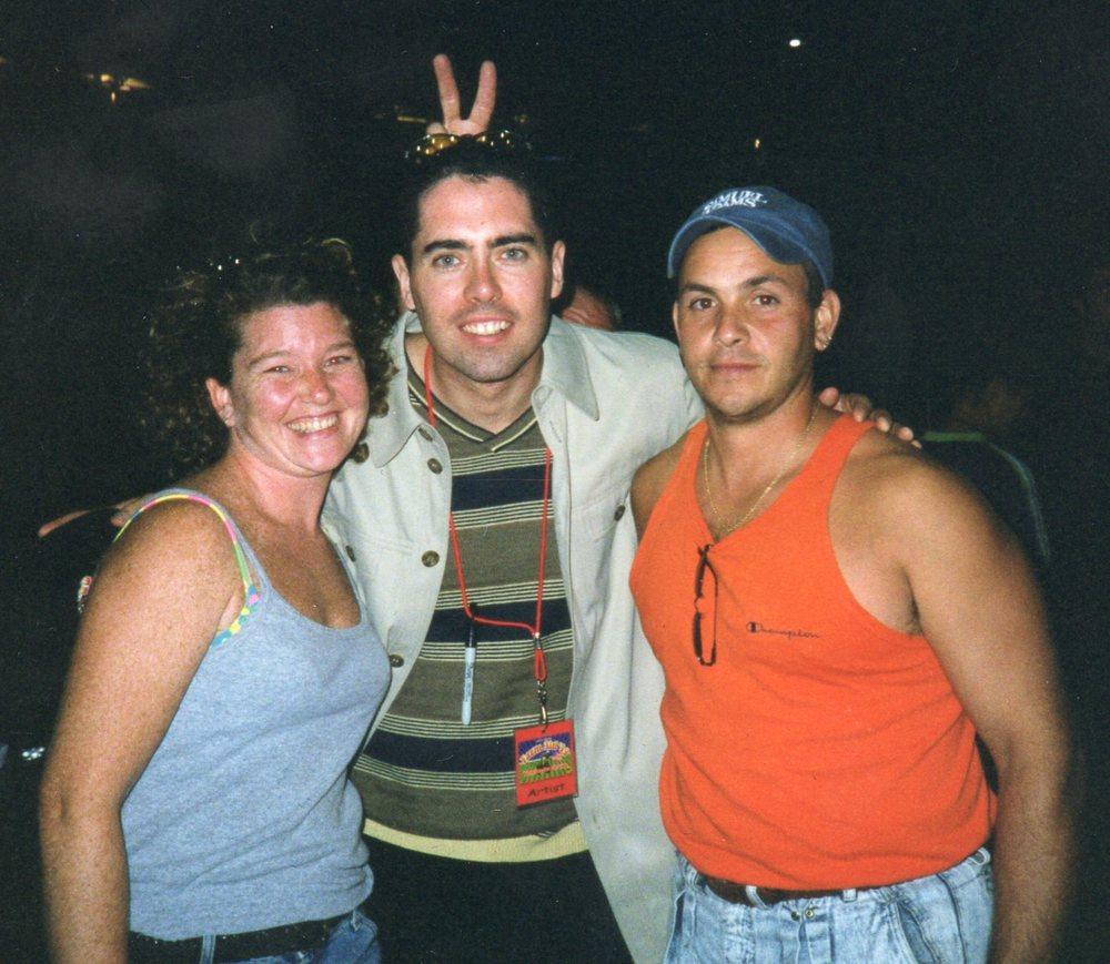 Ed Robertson (Barenaked Ladies) (With Wayne Cocorochio & Kathy Gillis).jpg