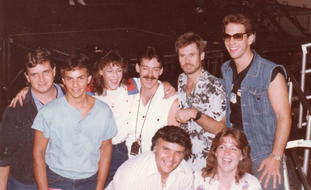 Hank Carter, Jeff Simon, Billy Blough & Steve Chrismar (George Thorogood & The Destroyers) (With Wayne & Chris Cocorochio & Pat Polk).jpg
