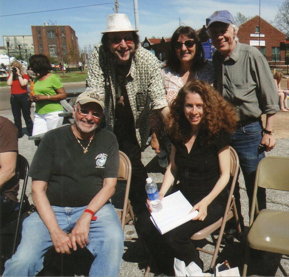 Ted Drozdowski (The Scissormen) & Laurie Hoffma, Paul Rochelle & Annie Raines