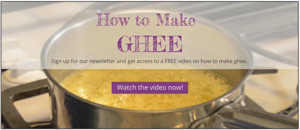 Learn how to make ghee.
