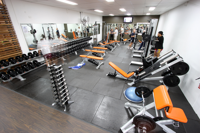 The Gym - Extensive Free Weight and Strength Equipment SelectionExclusive Italian Made Equipment