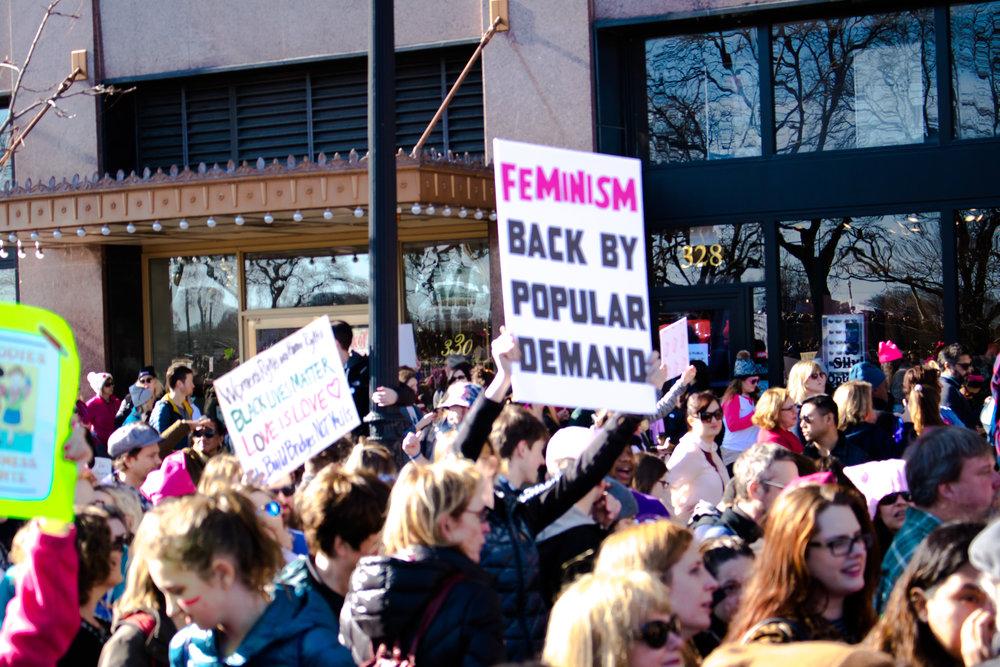women's march chicago 4