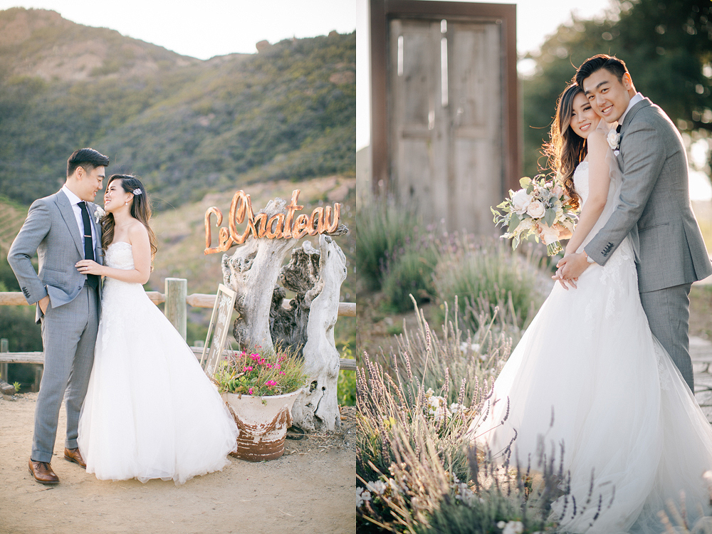 Saddle rock Ranch and Vineyard in Malibu Wedding Photo
