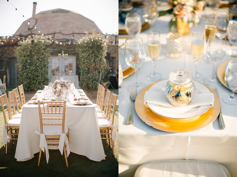 Saddlerock Ranch and Vineyard in Malibu Wedding Photo