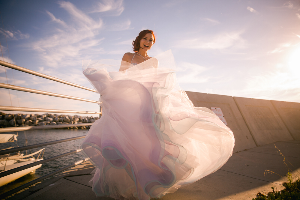 R10 Social House in Redondo Beach Wedding Photo