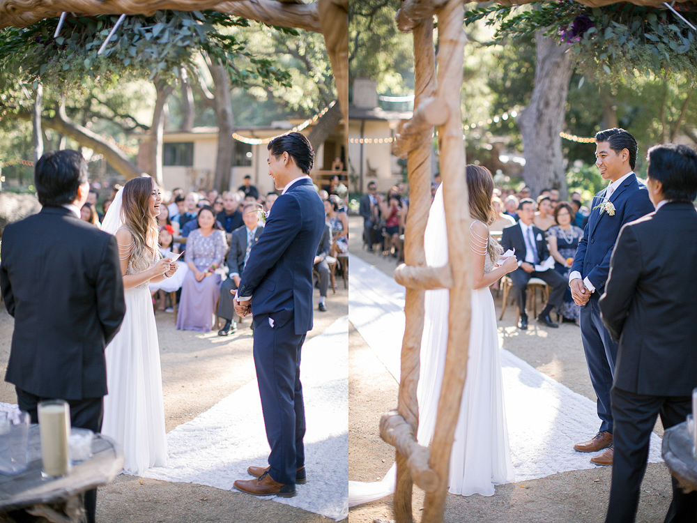 Oak Canyon Ranch in Malibu Wedding Photo