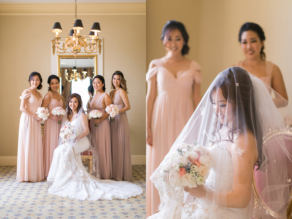 Carondelet House in Los Angeles Wedding Photo