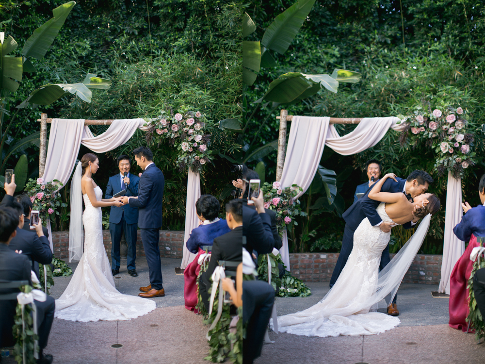 Millwick in Los Angeles Wedding Photo
