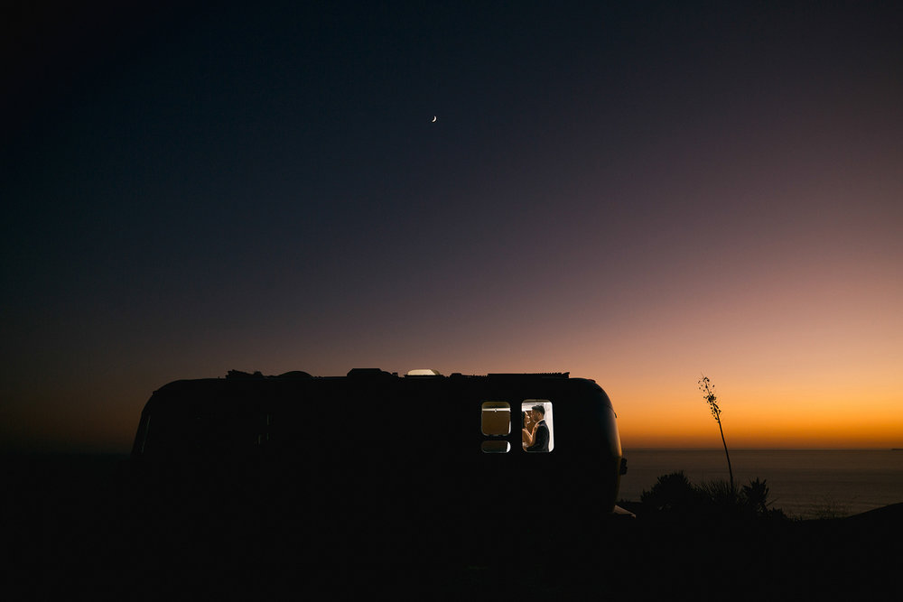 Malibu Canyon Engagement Photo
