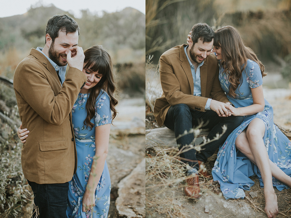Malibu Nature Engagement Photo