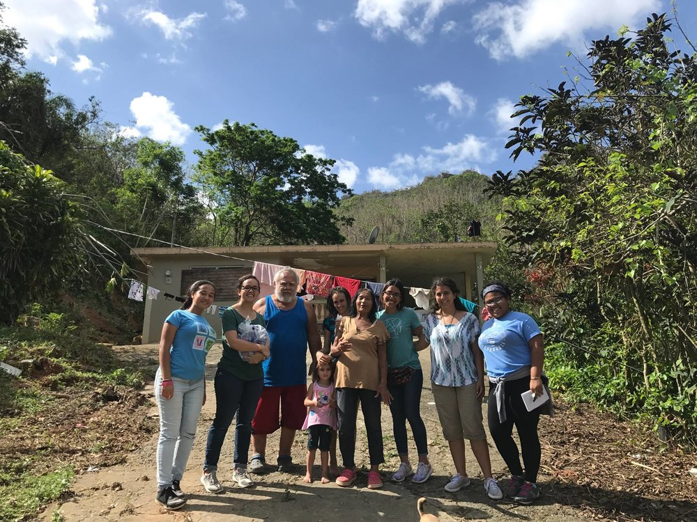 Donate today - Help us in our work for Puerto Rico