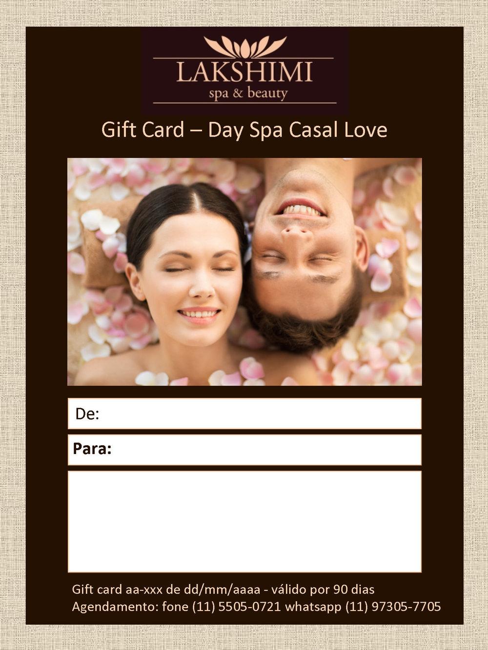 MODELO DE GIFT CARD VIRTUAL LAKSHIMI