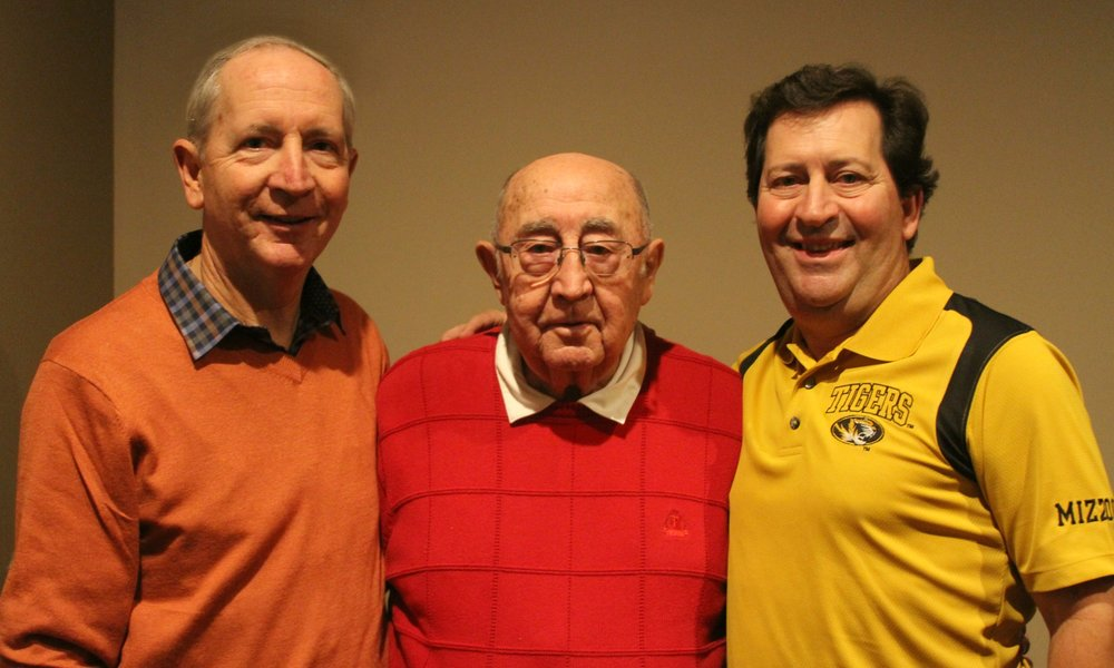 Dr. Scott McKnight's brother Tom McKnight, his father Cecil McKnight and Dr. Scott McKnight