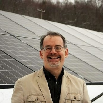 Adam Flint, Southern Tier Solar Works Program Manager at Binghamton Regional Sustainability Coalition; Coordinator of the Community Owned Shared Renewables (COSHARE) group, New York Energy Democracy Alliance (NYEDA).
