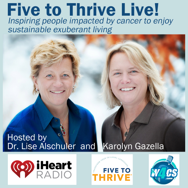 Five-to-Thrive Live Podcast (September 19, 2018) -- Click on Image