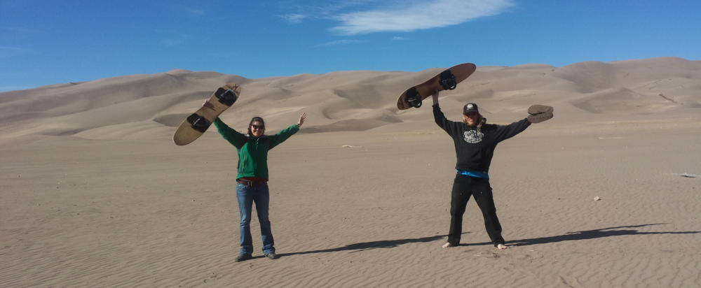 sand dunes... fun for everyone!