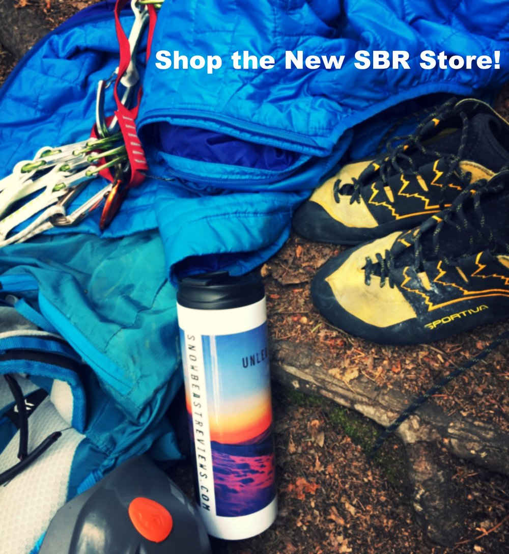 Pick up your swag here! Tag photos of you adventuring with your gear on social @snowbeastreviews for chance to be featured! - .