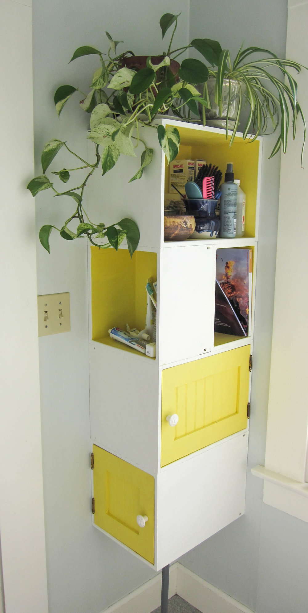 Cheerful Corner Cabinet