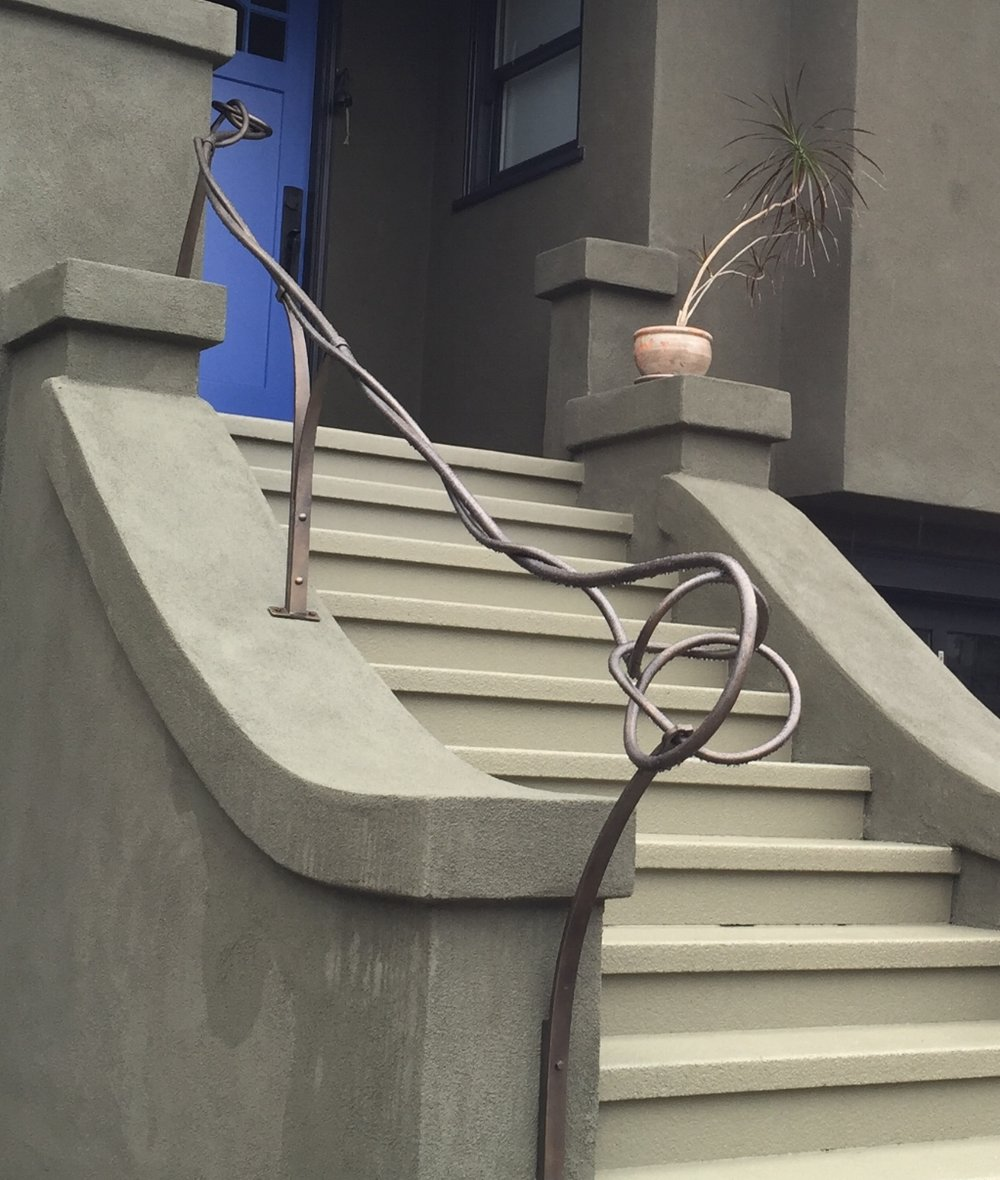 SCRIBBLE HANDRAIL - SHAWN LOVELL