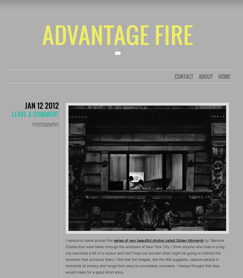 Advantage Fire