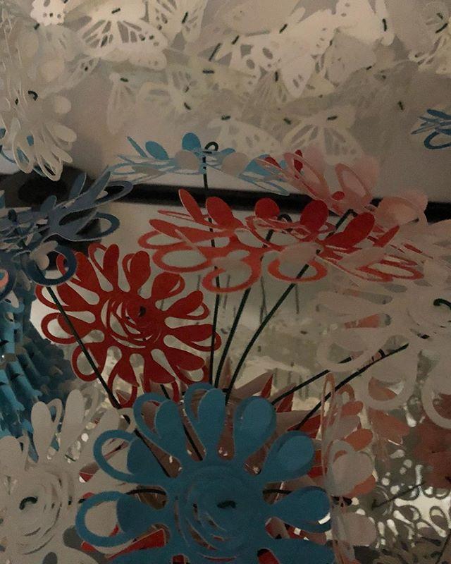 April Showers...☔️🌧💦 #susanryder #florijnHOME #EasterGifting #giftforself #paperart