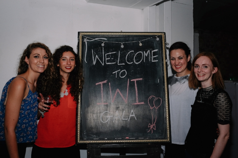 The Event's Team at the recent gala fundraiser.  Image courtesy of IWI.