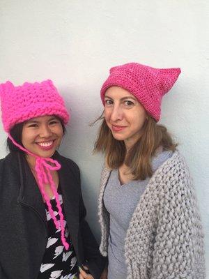 Krista Suh (right), Jayna Zweiman (left)