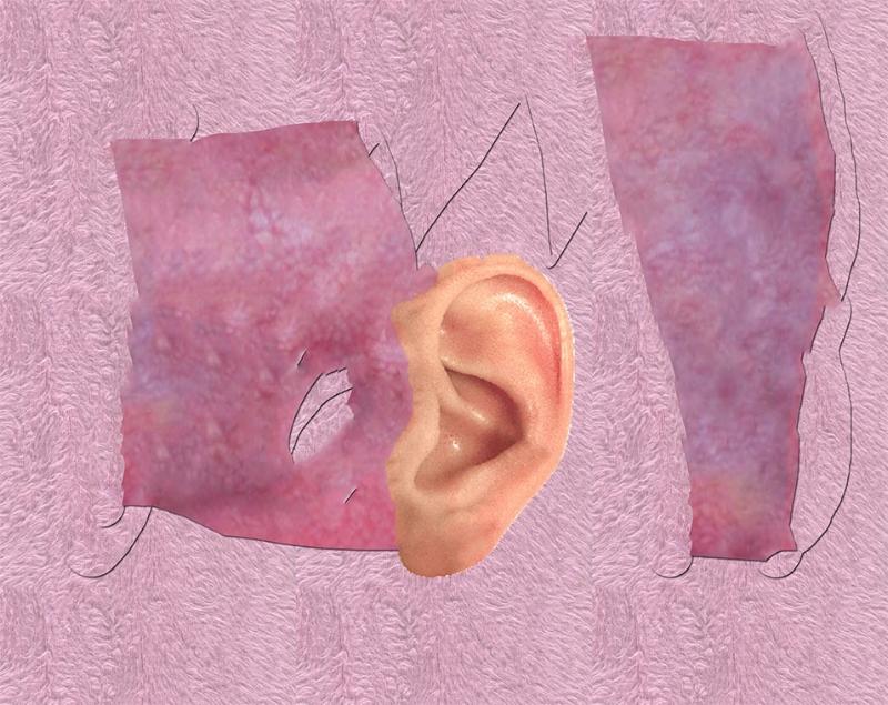 ear on body