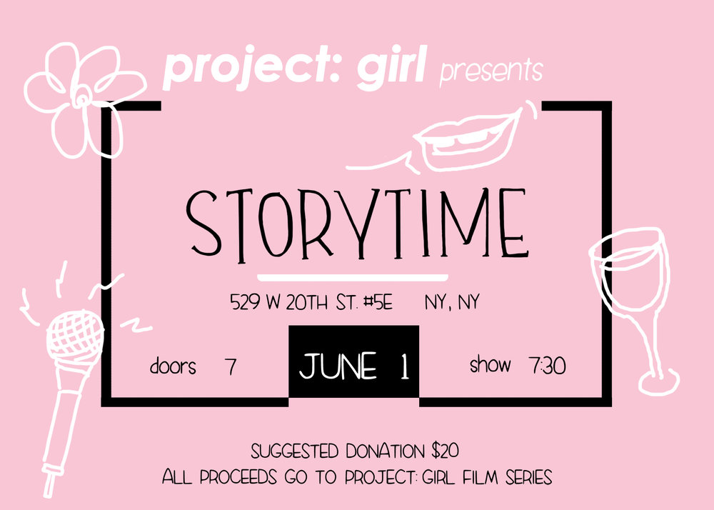 Illustration by Mitzi Akaha for  Project: Girl 's first event on June 1, 2017
