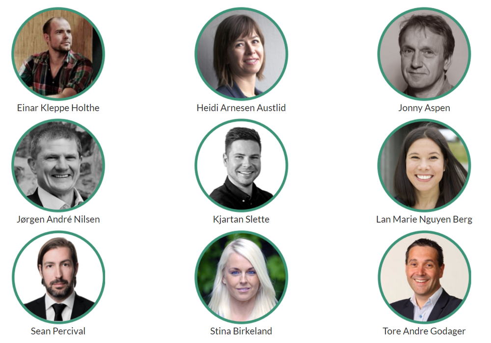 Juryen for Oslo Startupweekend
