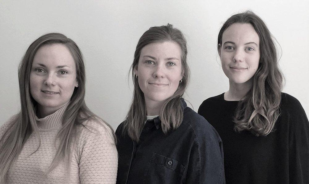 Ingrid Annette Kristiansen,Silje Uhlen Maurset og Tine Maurstad Larsson i Apico
