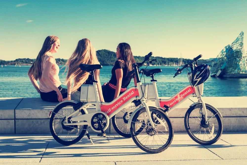 Oslobike kan benyttes av alle - perfekt for en oppdagelsesreise i egen eller ny by.
