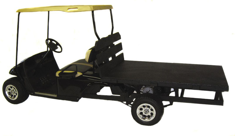 utility vehicle electric flatbed