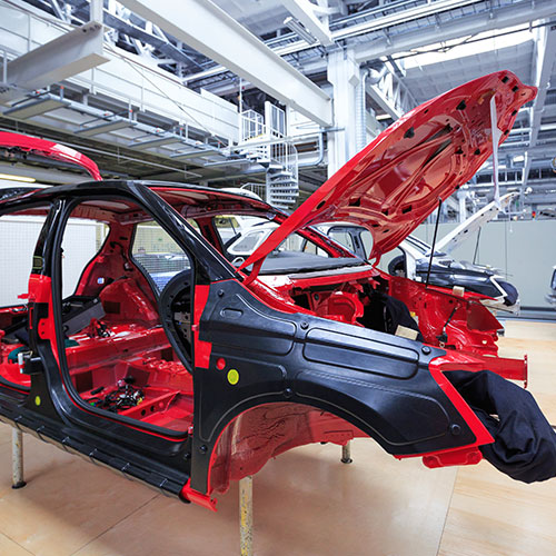 automotive manufacturing cart