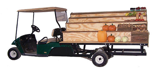 mobile produce rack