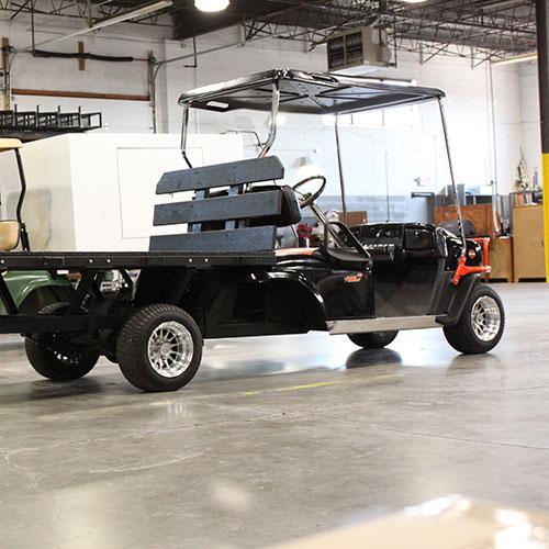 custom golf truck for warehouse