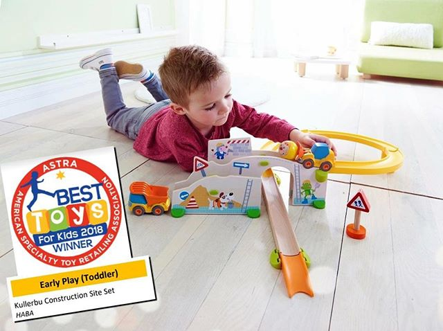BUILD up those S.T.E.M. skills with HABA's Kullerbu Construction Site Set, winner of a 2018 ASTRA Best Toy for Kids Award in the Early Play (Toddler) Category!  The Kullerbu line revolutionizes block play! An expandable play system that consists of colorful ball and car tracks that can be infinitely arranged for hours of learning fun for children as young as 18 months! They're in stock now, so come on in and get yours today!  Little Pnuts Toy Shoppe 209 Harrison Ave Lakeview 504.267.5083  #PlayMatters #LearningThroughPlay #HappyLearning #JustPlay #ImagineCreatePlay #BirthdayGifts #Balloons #GiftRegistry #GiftCards #GoodieBags #PartySupplies #Toys #Games #Books #STEM #CreativeActivities #ArtKits #HABA #Kullerbu #Construction #STEM #Engineering #ASTRA