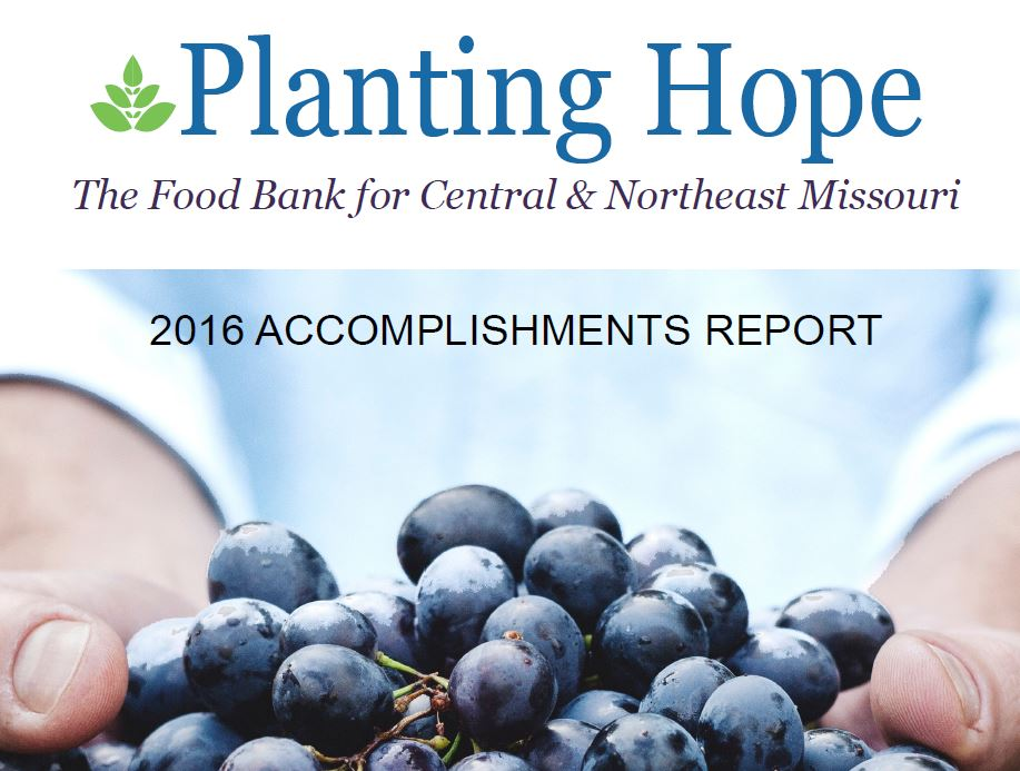 The 2016 Accomplishments Report is now available.