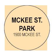 M cKee St. Park  Activity Calendar