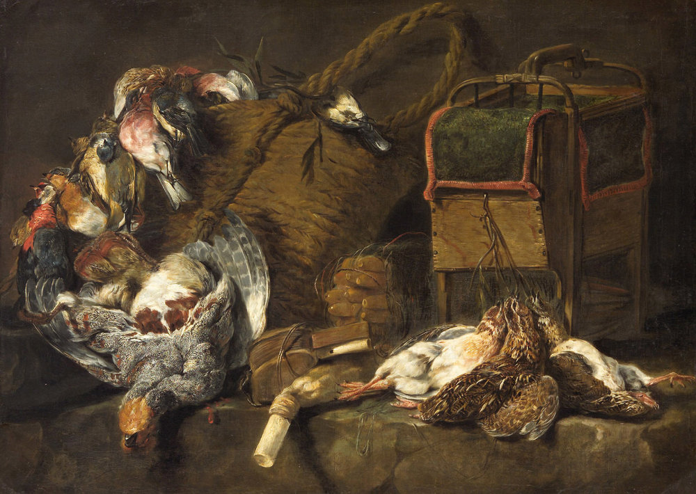 Totes Wildgeflügel/Dead Game Birds (1650-1660) by Jan Fyt  source