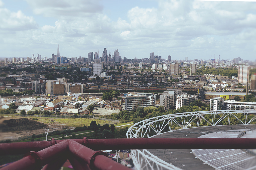 View from the ArcelorMittal Orbit © 2017 Ekaterina Selezneva