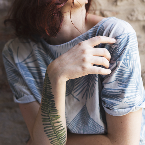 Fern Tattoo © 2017 Ekaterina Selezneva