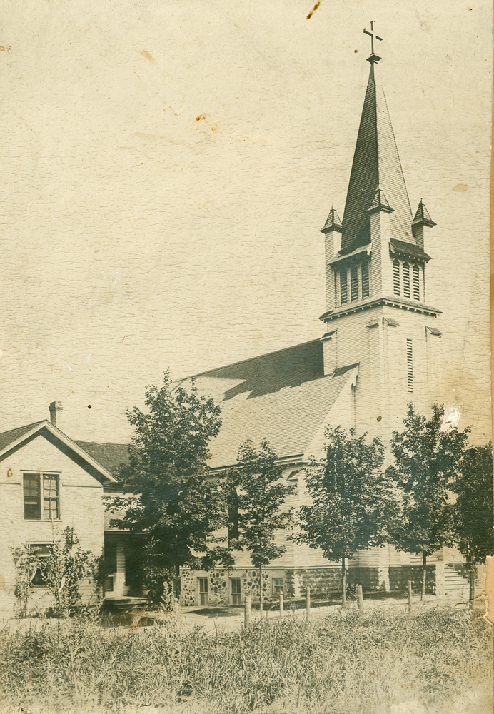 St. Paul Lutheran church, dedicated in 1903
