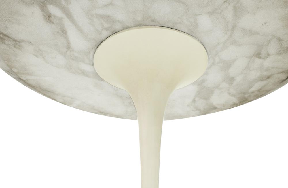 Saarinen 50 Tulip white marble endtables57 detail3 hires.jpg