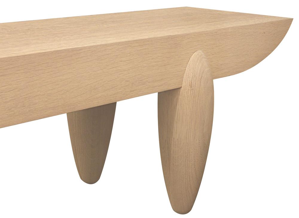 Liaigre 85 Pirogue white oak bench128 detail4 hires.jpg