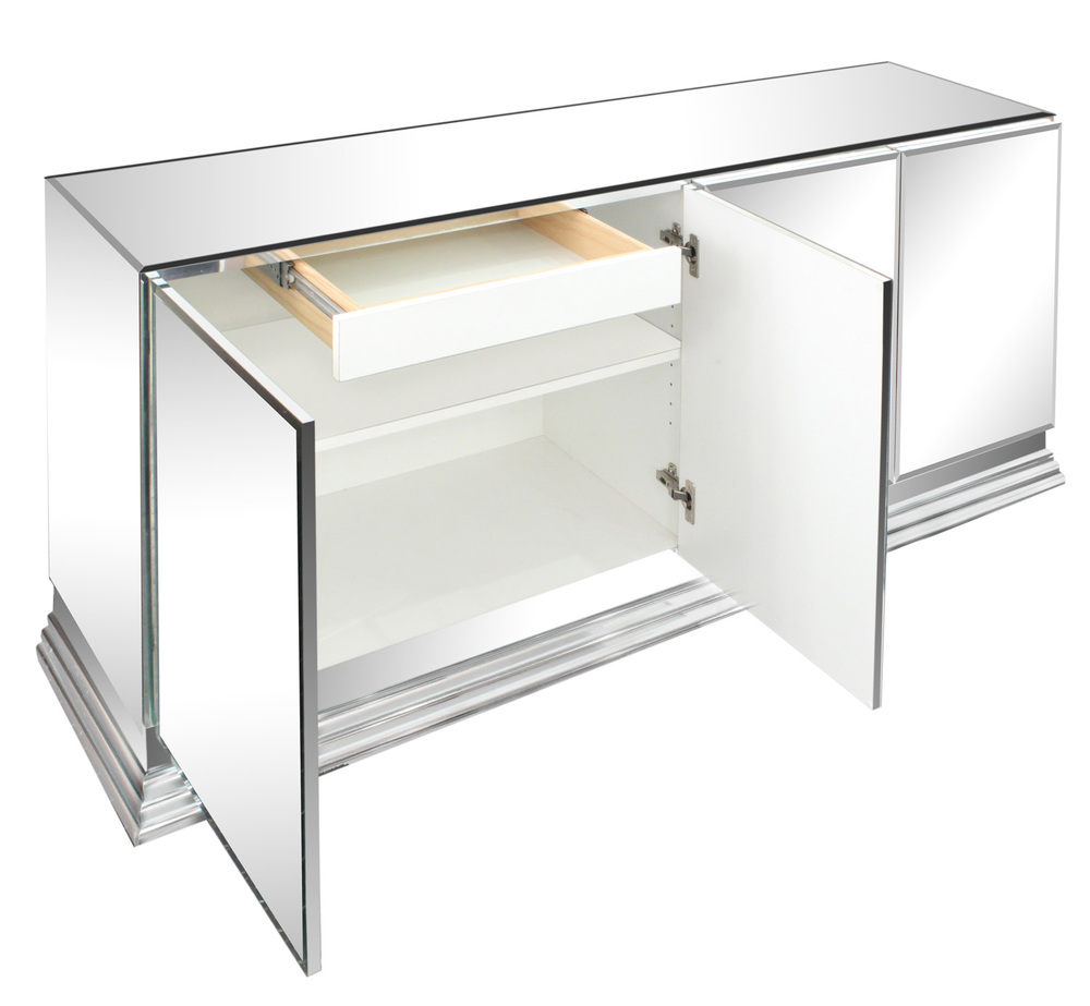 70s 85 Italian mirrored chrome base credenza48 detail1 hires.jpg