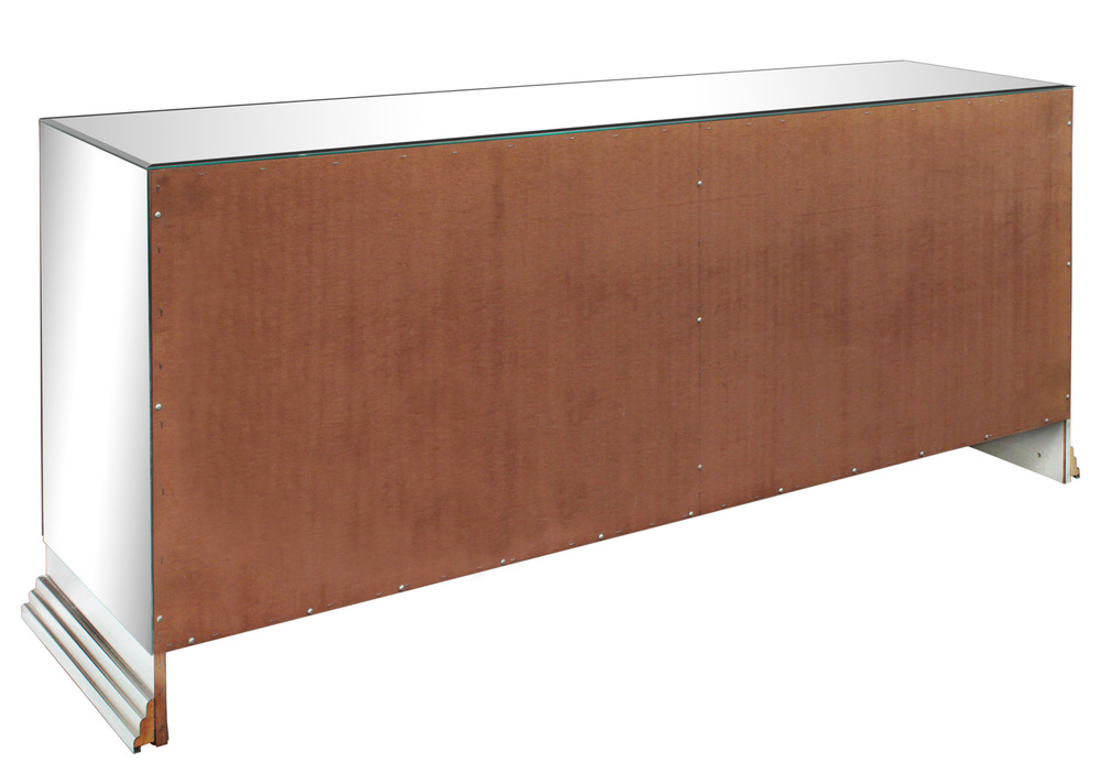 70s 85 Italian mirrored chrome base credenza48 detail4 hires.jpg